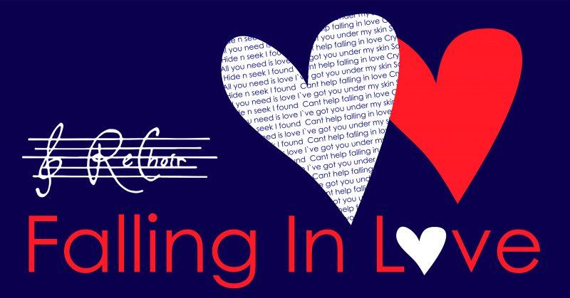 Konsertaffisch Falling in Love